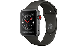 Apple Watch Series 3 42mm Aluminium Space Grey + Sport Loop Grey