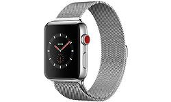 Apple Watch Series 3 42mm Stainless Steel Silver + Sport Loop Milanese Silver
