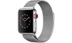 Apple Watch Series 3 38mm Stainless Steel Silver + Sport Loop Milanese Silver