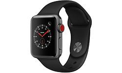 Apple Watch Series 3 38mm Aluminuim Silver + Sport Loop Black