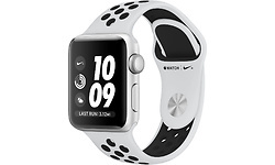 Apple Watch Nike+ 38mm Aluminium Silver Sport Loop Pure Platin/Black