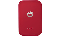 HP Sprocket Red