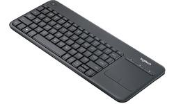 Logitech K400 USB Black (DE)