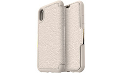 Otterbox Strada Folio iPhone X Pale Beige