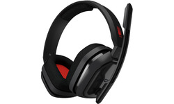 Logitech Astro A10 Gaming Headset PC Black/Red