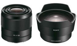 Sony FE 28mm f/2.0 + Fish Eye Converter