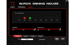 Riotoro Aurox Prism RGB Optical Gaming Mouse White