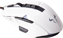 Riotoro Aurox Prism RGB Optical Gaming Mouse White