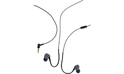 Boompods Sportpods Race Wired Black