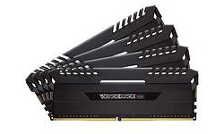 Corsair Vengeance RGB Black 32GB DDR4-3000 CL16-18-18-36 quad kit