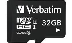 Verbatim MicroSDHC UHS-I 32GB + Adapter