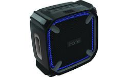 iHome iBT371 Bluetooth LED Black