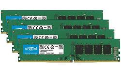 Crucial 32GB DDR4-2666 CL19 quad kit Udimm