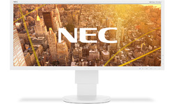 NEC MultiSync EA295WMi White