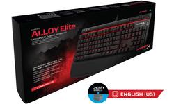 Kingston HyperX Alloy Elite Cherry MX Blue Black (US)