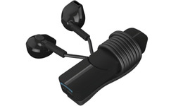 iFrogz In-Tone Wireless Bluetooth Earbuds with Built-In Micophone Black