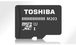 Toshiba Exceria M203 MicroSDHC Class 10 16GB + Adapter