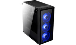Aerocool Quartz Blue Window Black