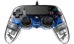Nacon PS4 Official Wired Illuminated Controller Blue