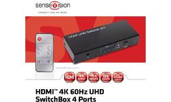 Club 3D CSV-1370 HDMI 2.0 UHD SwitchBox 4 Ports