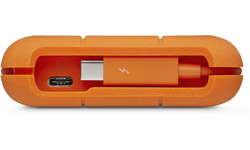 LaCie Rugged Secure USB-C 2TB White/Orange