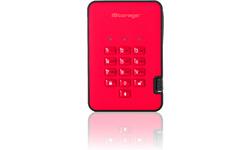 iStorage diskAshur 2 500GB Red