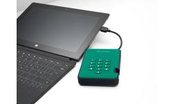 iStorage diskAshur 2 Harddisk 1TB Green