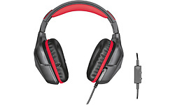 Trust GXT 344 Creon Gaming Headset Black/Red