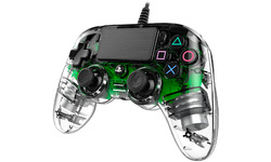 Nacon PS4 Official Wired LED Controller Green