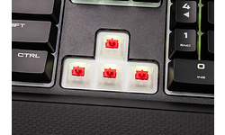 Corsair Gaming K68 RGB Cherry MX Red Black (US)