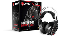 MSI Immerse GH60 Stereo Gaming Headset Black