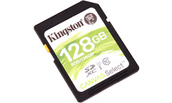 Kingston Canvas Select SDXC UHS-I 128GB