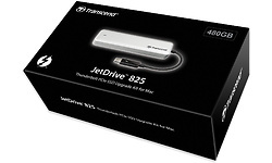Transcend JetDrive 825 480GB Silver