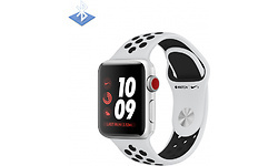 Apple Watch Nike+ OLED 38mm Silver Sport Band Black/White