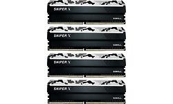 G.Skill SniperX Urban Camouflage 32GB DDR4-3200 CL16 quad kit