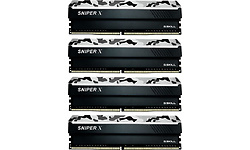 G.Skill SniperX Urban Camo 64GB DDR4-3200 CL16 quad kit