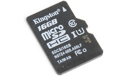Kingston Canvas Select MicroSDHC UHS-I 16GB