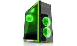 CiT Flash Green LED Window Black