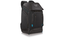"Acer Predator Utility Backpack 17.3"" Black/Teal"