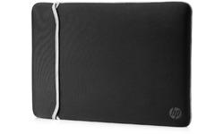 "HP Neoprene Reversible Sleeve 15.6"" Black/Silver"