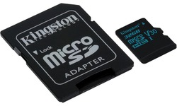 Kingston Canvas Go MicroSDHC UHS-I U3 32GB + Adapter