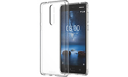Nokia Hybrid Crystal Case CC-701 Nokia 8 Transparent