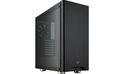 Corsair Carbide 275R Tempered Glass Black
