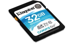 Kingston Canvas Go SDHC UHS-I U3 32GB