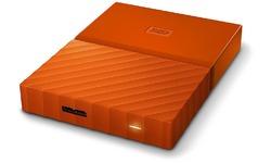 Western Digital My Passport 2TB Orange (Encryption/Backup)