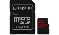 Kingston Canvas React MicroSDHC UHS-I U3 32GB + Adapter