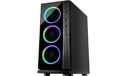 Inter-Tech Case W-III RGB Black