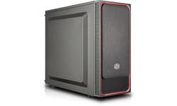Cooler Master MasterBox E500L Black/Red