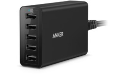 Anker PowerPort 5 8000 PowerIQ Black