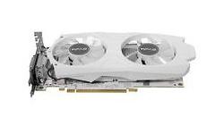 KFA2 GeForce GTX 1050 Ti EX OC 4GB White